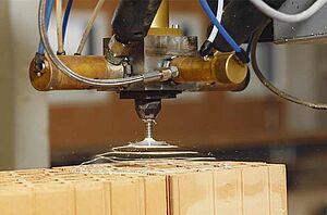 RedBloc-Ziegelfertigteil-Produktion
