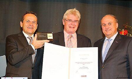 Auszeichnung Traditionsbetrieb Ziegelwerk Pichler Wels